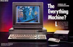 C64 Commodore amiga 500 ordinateur T-shirt Rétro Années 80 jeux vidéo ZX Spectrum PC