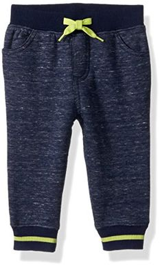 Gymboree Baby Boys Marled Pants, Multi, 12-18 MO Gymboree