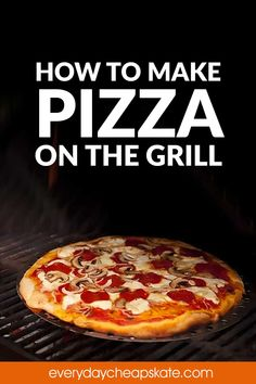 Pizza Bake, Pizza Dough, Barbecue Grill, Grilling, Grill Skillet, My Favorite Food, Favorite Recipes, Small Oven, Outdoor Oven
