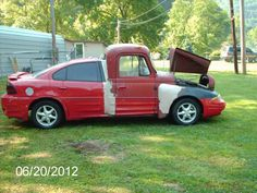 And this Frankencar. | 20 Of The Best Redneck Repair Jobs.. HAHHAHA
