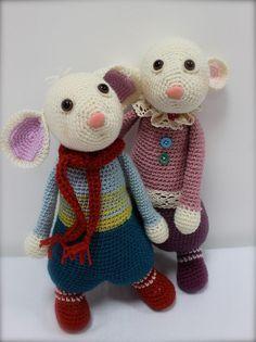 Ravelry: Herbie & Hetty Mouse pattern by Laurie Leonard