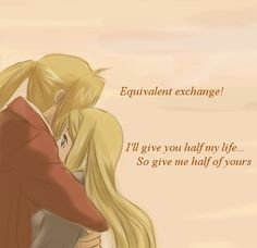 Chapter 108 of Fullmetal Alchemist and episode 65 of the Brotherhood anime....best proposal type...whatever that was....ever! XD