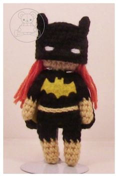 Dc Characters, Crocheting, Free Pattern, Joker, Artisan, Batman, Christmas Ornaments, Holiday Decor, Gallery