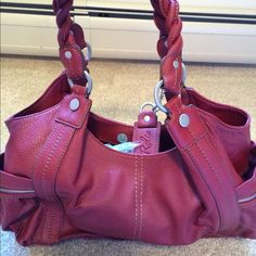 Red Relic Bag This bag was only used a couple of times. Brick red color. Twisted straps. Relic Bags Shoulder Bags