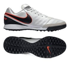 various colors f3c3d f9baf Nike Tiempo Mystic V TF Turf Soccer Shoes (Pure Platinum Black)    819224-001   Nike Turf Soccer Shoes   SOCCERCORNER.COM