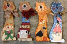 Four Seasons Cats e-Pattern DOWNLOAD