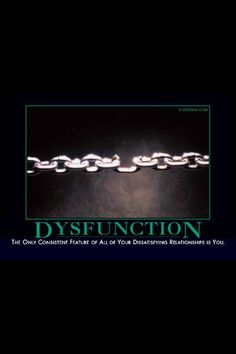Get a Dysfunction funny picture from Demotivational. You can get dozens of other funny pictures from Demotivational. Here are some samples of funny words: dysfunction When You Believe, Demotivational Posters, Truth Hurts, I Love To Laugh, Denial, That Way, Just In Case, Twilight, Illusions