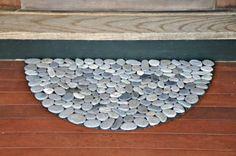Doormat from Thin River Rocks