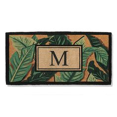 Palm Coco Entry Mat