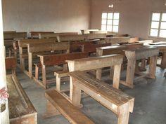 A classroom in Kirundo