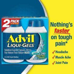 Advil+Liqui-Gels+Solubilized+Ibuprofen+Capsules+200+mg+Pain/Fever+Reliever+240ct