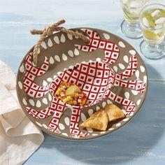 Mud Pie Crab Chip & Dip Platter