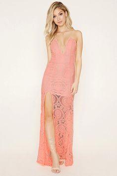 Tiger Mist Lace Maxi Dress #f21brandedshop