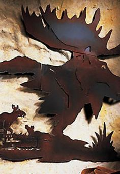 Moose wall décor #LGLimitlessDesign & #Contest