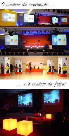 Cenário Convenção Itaú