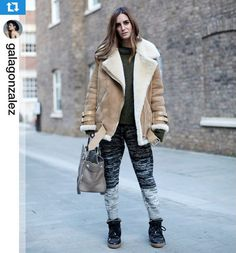 Gala rocking our degraded knitted pants #Repost @galagonzalez