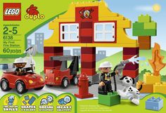 Amazon.com: LEGO DUPLO My First Fire Station 6138: Toys & Games *9 PAID