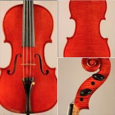 A #violin crafted by Robert Walden Isley is available for examination and trial. #violinist