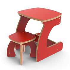 Mini Table and Stool for kids room @Jennifer Schell for homeschooling :)