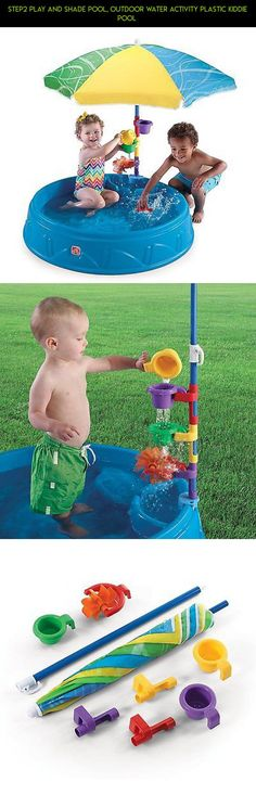 Step2 Play and Shade POOL, Outdoor Water Activity Plastic KIDDIE POOL  #kit #fpv #technology #racing #tech #drone #products #kiddy #plastic #camera #pools #shopping #parts #plans #gadgets
