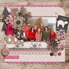 Merry Christmas Memories - Sweet Shoppe Gallery Krafty Christmas http://www.sweetshoppedesigns.com/sweetshoppe/product.php?productid=35368&cat=869&page=4 by Libby Pritchett and Melissa Bennett Banner of Love 2 by Fiddle Dee Dee Designs