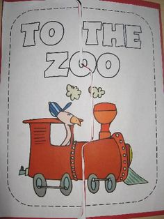 1, 2, 3 -- To the Zoo lapbook