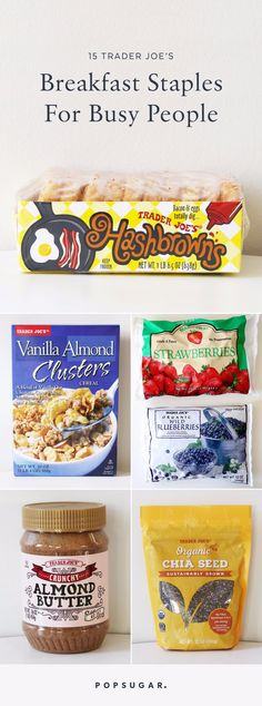 15 Trader Joe's Breakfast Staples For Busy People