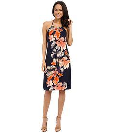Tommy Bahama Le Grande Fleur Halter Dress