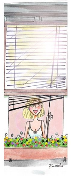 illustration by My Little Paris Paris Illustration, Watercolor Illustration, Little Paris, Good Morning World, Art Background, Girl Humor, Girly, Cute Cartoon, Cute Drawings