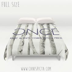 Once Upon A Time Duvet Cover OUAT Queen King Full size Decor Magic Home Bed Bedroom Bedding Quote Woodland Tree TV Fan Fandom Show Gift Twin by CanisPicta on Etsy https://www.etsy.com/listing/258466443/once-upon-a-time-duvet-cover-ouat-queen