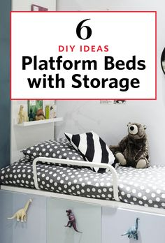 Here's an idea: turn basic IKEA storage cabinets and dressers into multi-functional lofts. It's a smart way to address the problem of small space — you get both beds and storage in the same footprint. These hacks work well for studio apartments, kids rooms, and dorms. As inspiration, here are different unique ways others made it work for them.