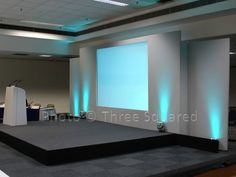 One of our many Conference Stage sets in action