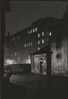 Prague at Night 1958 Jan Saudek
