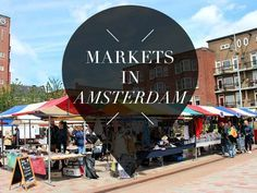 is there anything more fun than strolling on markets? Nuh uh. Discover the 12 x best markets in Amsterdam on Your Little Black Book >>