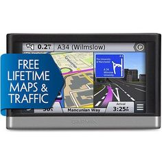 cool Garmin Nuvi 2597LMT 5 GPS Vehicle Navigation System W Speaks Street Names - For Sale