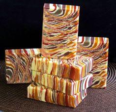 Creative soap by Steso; color all by Brazilian clays.
