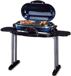 Grill only 500Watts Combination//Multi Applicance for 2-4 Persons Raclette and Stone Grill Perfect for Camping
