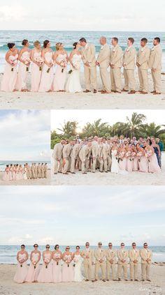 Mr. and Mrs. Goebel   Secrets Maroma   Riviera Maya/Cancun Destination Wedding