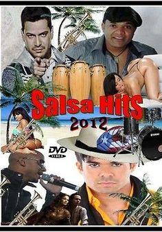 Salsa Hits 2012 DVD 45 Music Videos Victor Manuelle Marc Anthony Luis Enrique