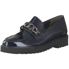 Stylische Mokassin Slipper in Lackoptik von Paul Green. Mehr zum Schuh online auf schuhe.de unter: