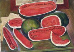 Les pastèques, Diego Rivera (1886-1957, Mexico)