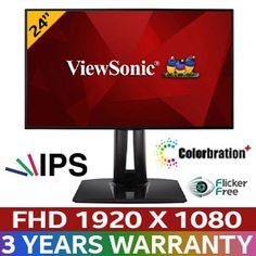 Buy ViewSonic sRGB Professional Monitor at discounted price. Evetech is your one source for the best monitor deals in South Africa. Environmentally Friendly Packaging, Light Filter, Visual Display, Color Calibration, Biodegradable Products, South Africa, Monitor, The 100