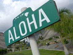 Spread aloha.