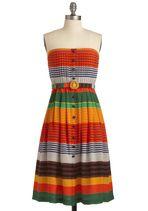 Plenty by Tracy Reese Phoenix Sunrises Dress #boho