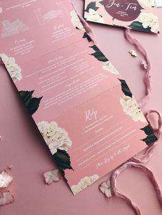 Pearlescent Hydrangea Wedding Invitation #weddinginvitation Colorful Wedding Invitations, Luxury Wedding Invitations, Wedding Stationary, Wedding Invitation Cards, Wedding Cards, Wedding Colors, Wedding Bells, Wedding Ring, Dream Wedding