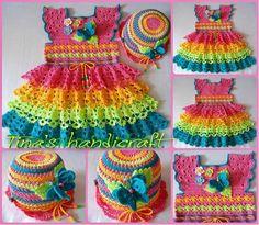 Tina's handicraft : kids dresses,