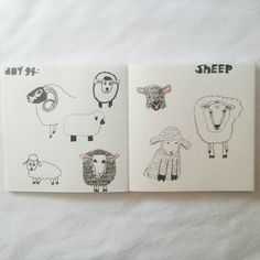 Day 94: sheep #sketchbook