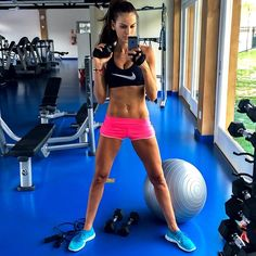 30 Instagrams from model Izabel Goulart that will inspire you to get your workout on:
