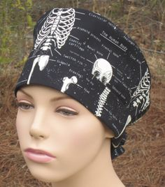 Scrub Hat The Human Body by TheSewingScrub on Etsy