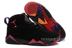 f78f9c43bc60 Air Jordan 7 Retro Girls Raptors Black True Red-Dark Charcoal-Club Purple  Women Air Jordan 7 - Nike official website Up to discount